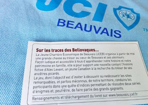 Photo de l'encart réservé au trésor des bellovaques, commission culturelle de la jce beauvais, dans le bnv, Beauvais Notre Ville de mai 2014