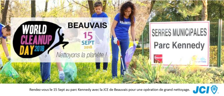 Appel à l'action le 15 Septembre :  Nettoyons le beauvaisis !!!