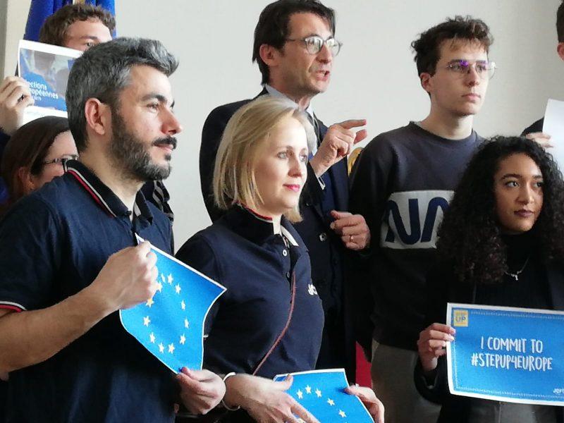 Extrait de la vidéo de la JCE de Beauvais sur les élections européennes