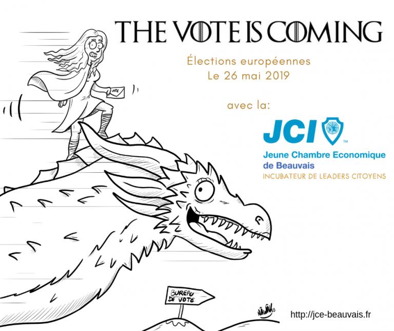 C'est le temps de fermer les écrans et d'aller voter!