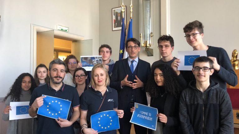 L'Action Ta Voix Ton Vote de Beauvais,  élue 4ième meilleur action citoyenne de l'année